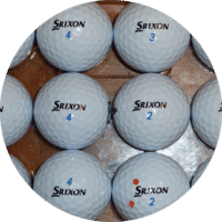 Used Srixon AD333 Golf Balls