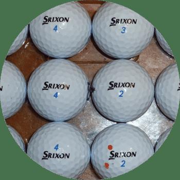 Used Srixon AD333 Golf Balls
